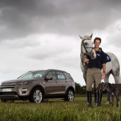 Harry Meade gets all revved up for Land Rover