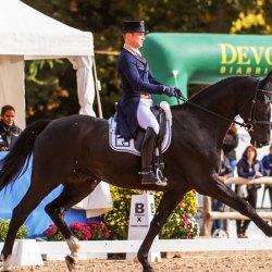 Michael Jung's dressage best at Pau Horse Trials