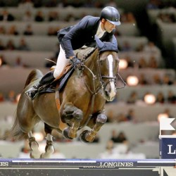 Leprevost claims second World Cup jumping qualifier