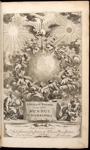 Athanasius Kircher, Mundus subterraneus (1665) (1/6)