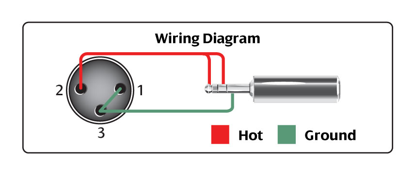 Amphenol To Xlr 4 Pin Wiring Diagram Microphone Cable Hosa Technology