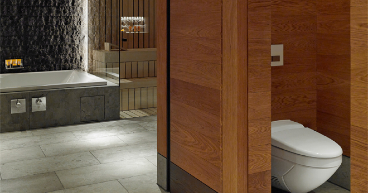 Aquaclean 8000plus Five Star Luxury From Geberit At The Chedi Andermatt Hotel