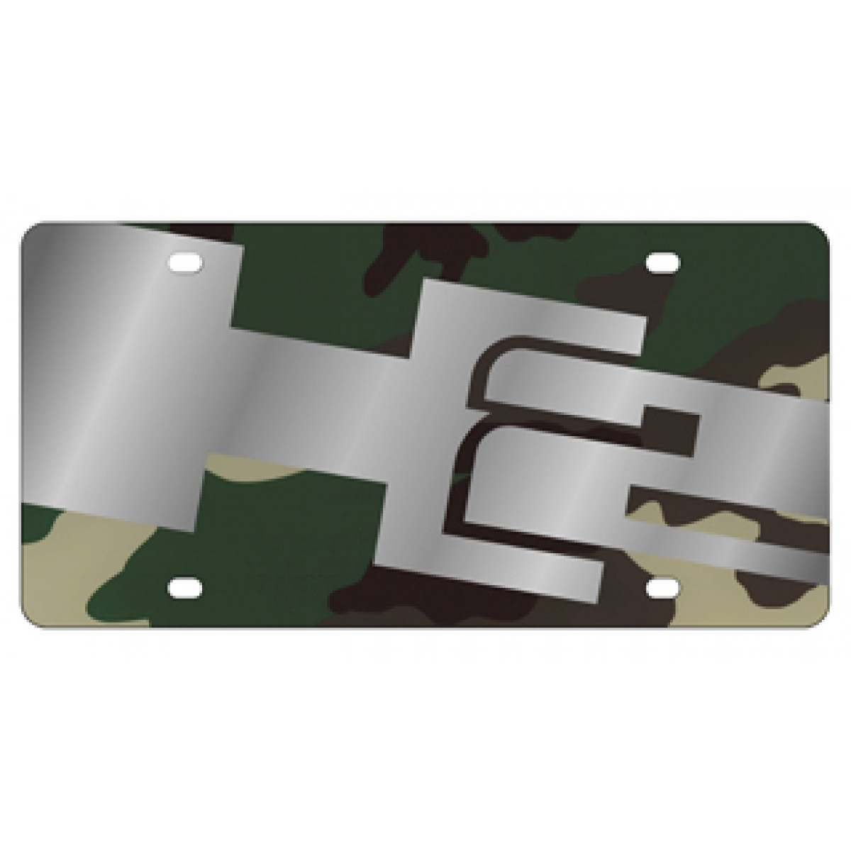Auto Accessories Garage Military Discount Hossrods Hummer H2 License Plate Stamp Series Lazer Style