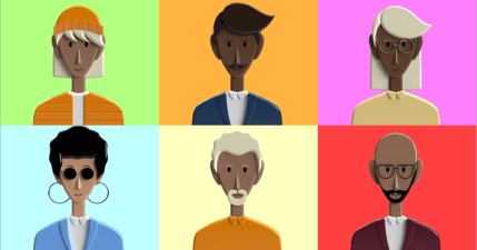 Power People Platform 好看的 3D 人物頭像 PNG、PSD 素材網!100% 完全免費並可商用!