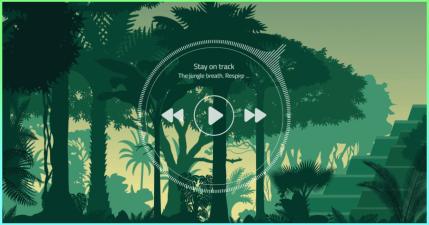 The jungle breath 叢林環境音效產生器!能撫平浮躁的情緒,讓你頭腦更清晰!
