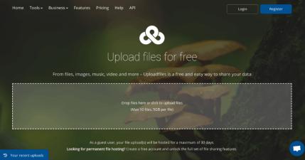 Ufile.io 免費空間突破 Email 附檔限制,免註冊 / 免登入分享檔案最大可傳 5GB