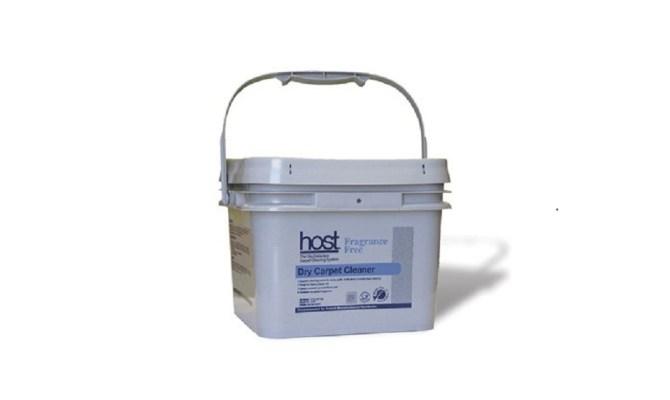 Productos Host Dry, limpieza profesional de alfombras. Esponjas limpiadoras sin fragancia HOST.
