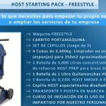 Comienza tu negocio con Starting Pack Freestyle