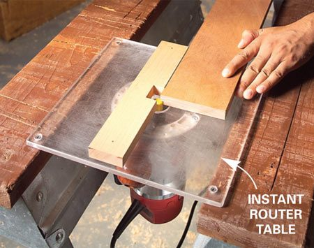 Router Table Dust Hood - Router Tips, Jigs and Fixtures