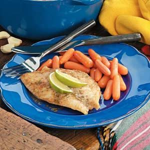 Tropical Fish Fillets Recipe photo by Taste of Home