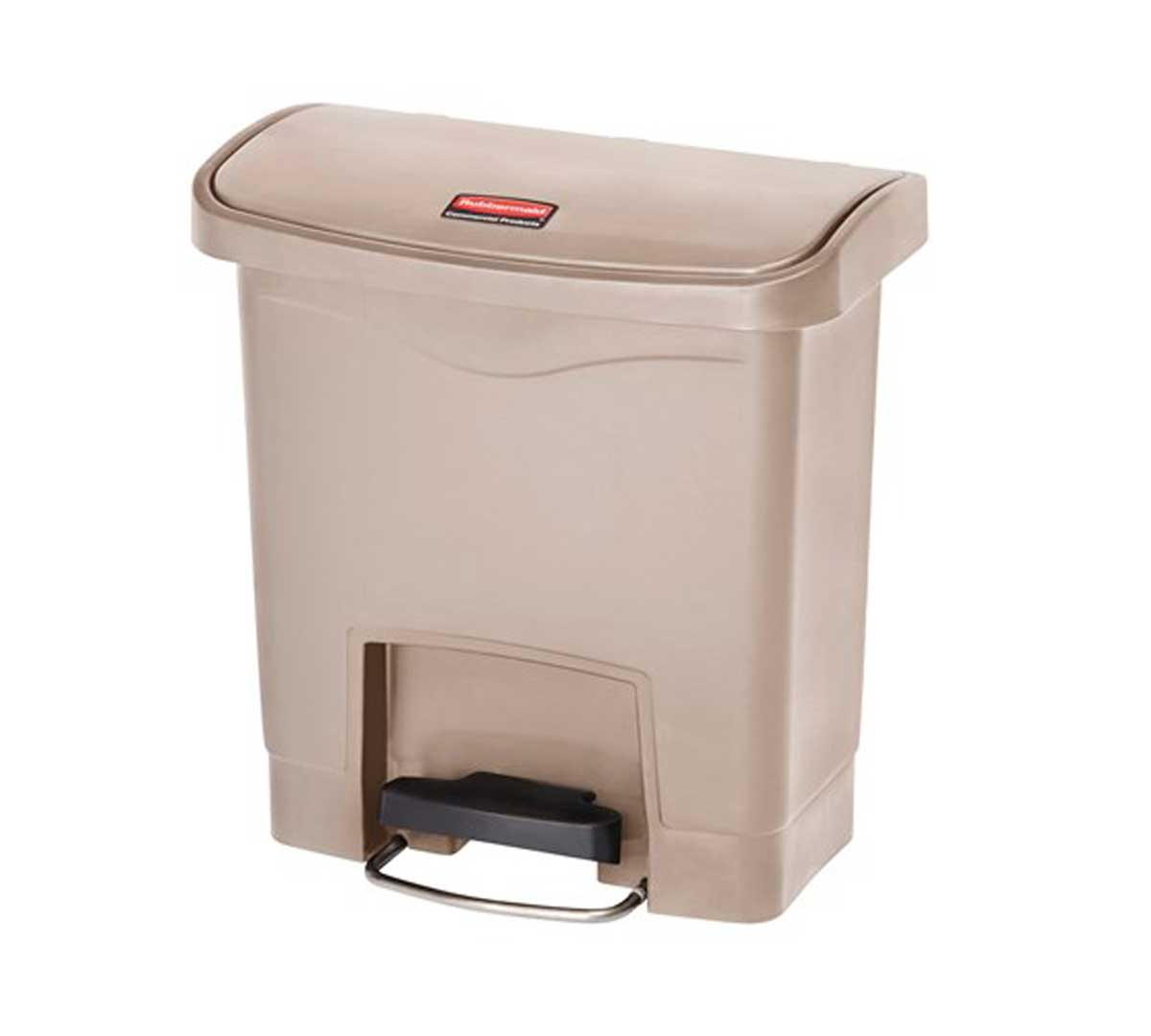 Dimensiones Contenedor Basura Rubbermaid Slim Jim Frontal
