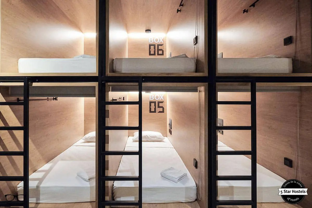 Ventilator Design Inbox Capsule Hotel In St Petersburg - Honest Review 2018