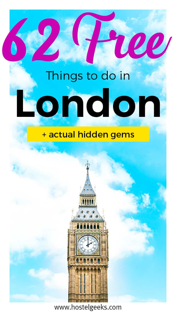 Do Things 62 Free Things To Do In London In 2019 Party And Fun Full Map