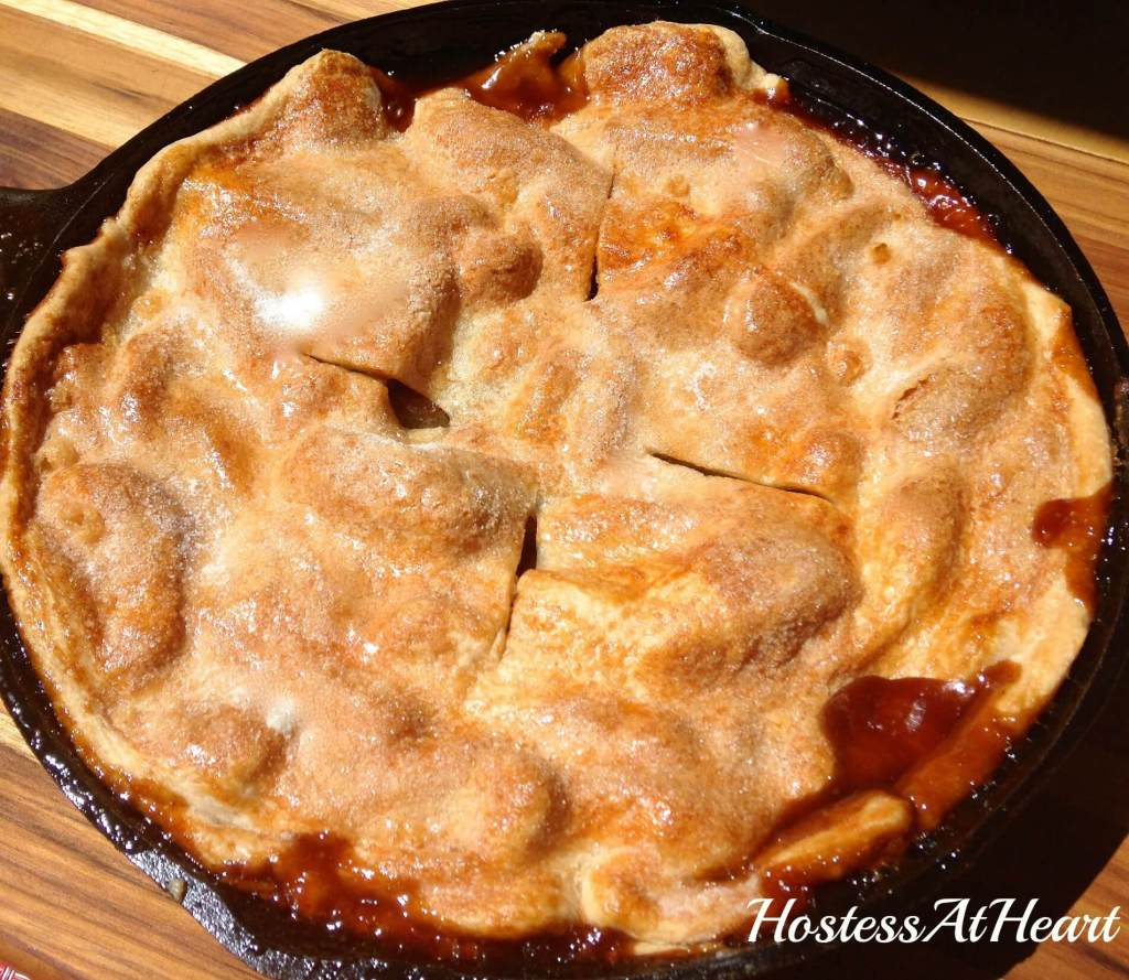 Skillet Apple Pie - HostessAtHeart
