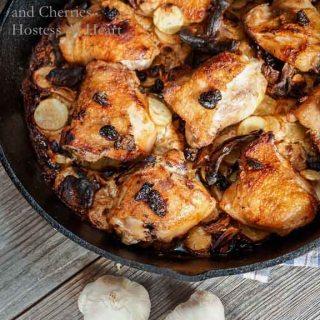Braised Chicken Thighs - Hostess At Heart-1