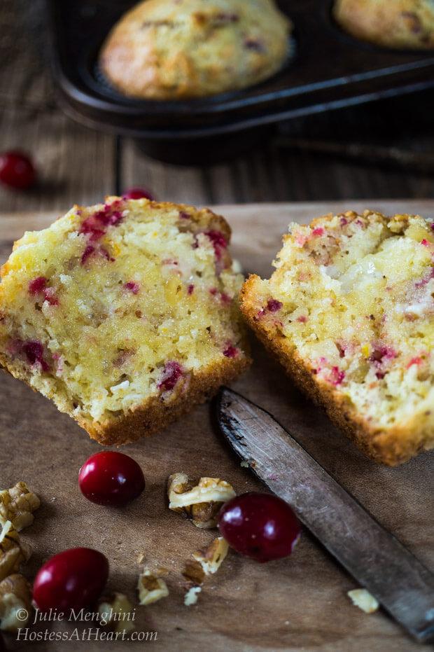 Cranberry Orange Muffins | Hostess At Heart