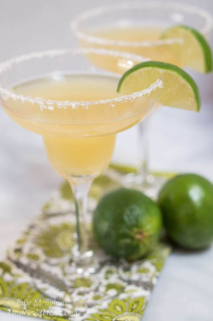 Fresh Margarita Recipe | Hostess At Heart
