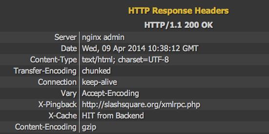 Hide Server Version