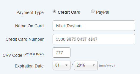 HostGator Payoneer Payment