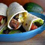 Steak Tacos with Guacamole, Salsa, and Lime Crema