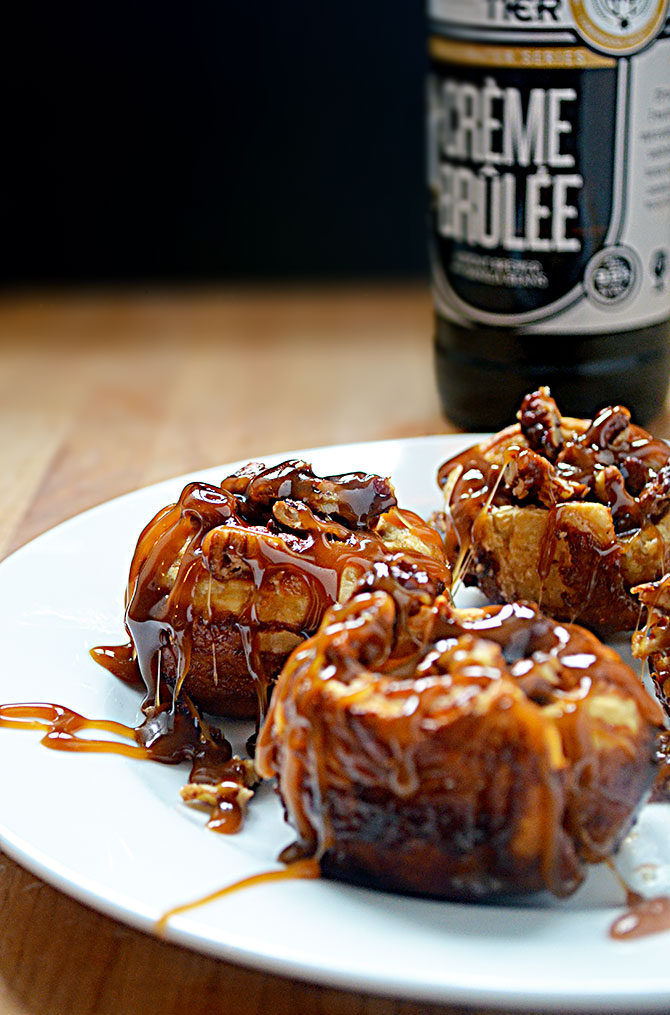 Simple Stout Sticky Buns