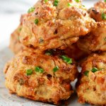 French Onion Soup Drop Biscuits