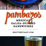 Pambazos (Mexican Salsa-Dunked Sandwiches)