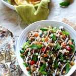 Indian Spiced Rice & Lentil Salad
