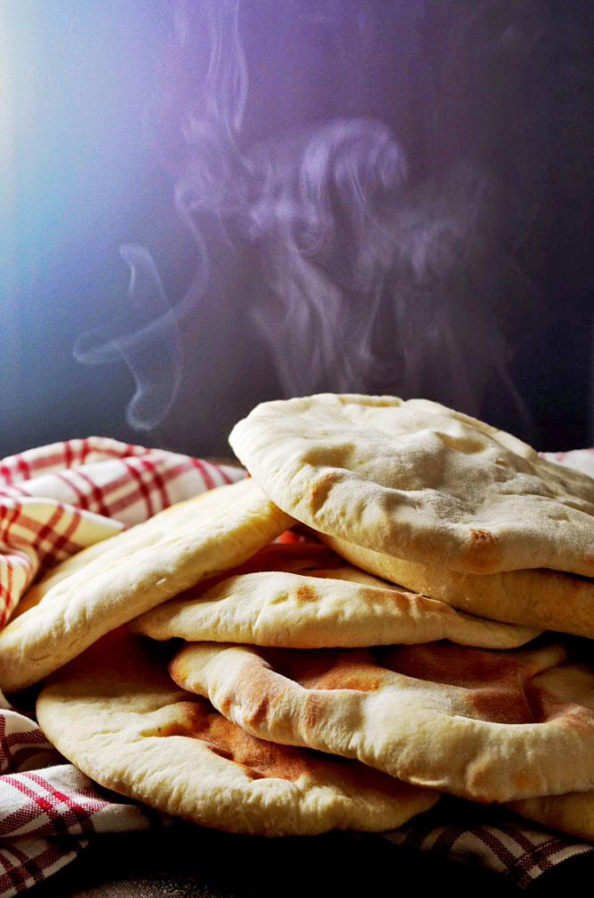 Homemade Pita Bread. This simple recipe, from Michael Solomonov's Zahav cookbook, makes the best pita rounds I've ever eaten, complete with that perfect pocket. No special equipment required! | hostthetoast.com