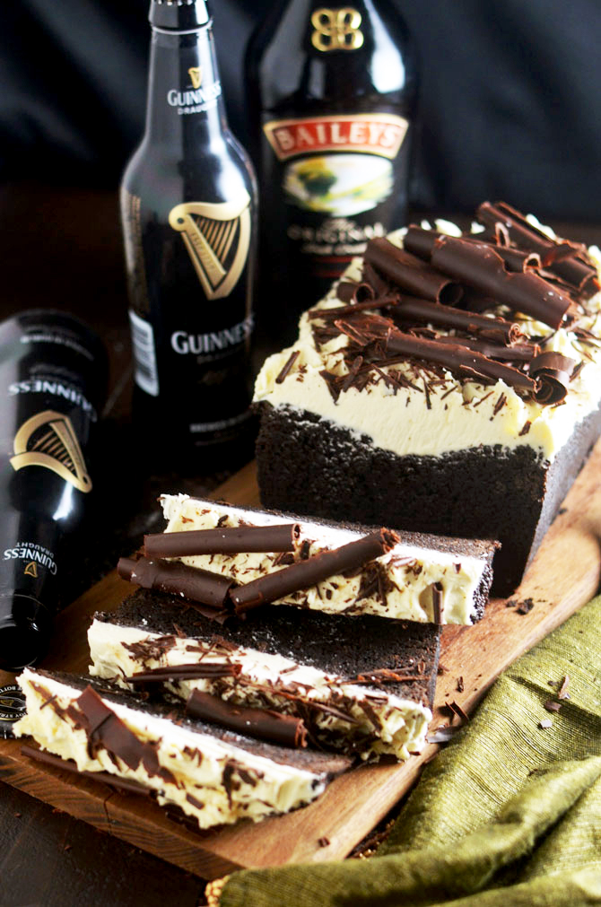 rich, dense, malted chocolate cake combines the flavors of Irish stout ...