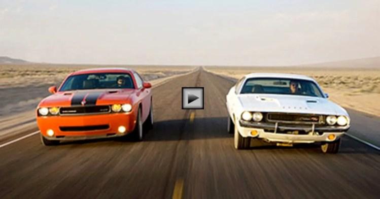 2014 Dodge Charger Rt For Sale >> KOWALSKI'S 1970 CHALLENGER R/T vs 2008 CHALLENGER | HOT CARS