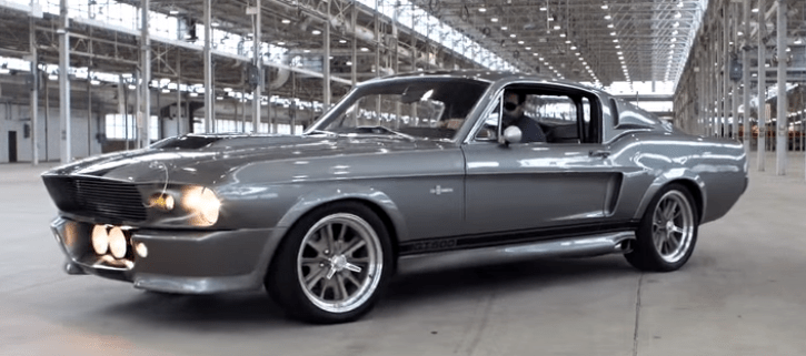The Original Gone In 60 Seconds Mustang Eleanor Hot Cars