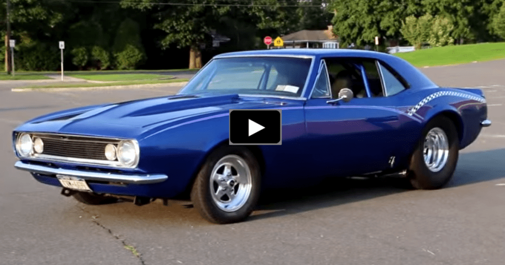 Pro Street 1967 Chevy Camaro 383 Stroker1 Png Resize 1024