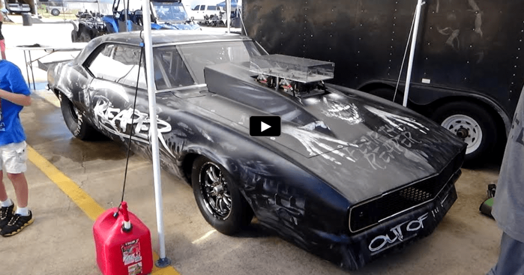 The Nitrous Fed 1968 Camaro Quot Reaper Quot In Action Hot Cars
