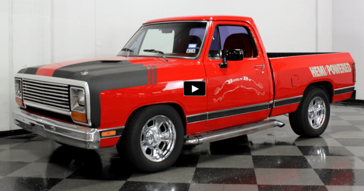 Customized 1984 Dodge Ram 5 7l Hemi Truck Hot Cars