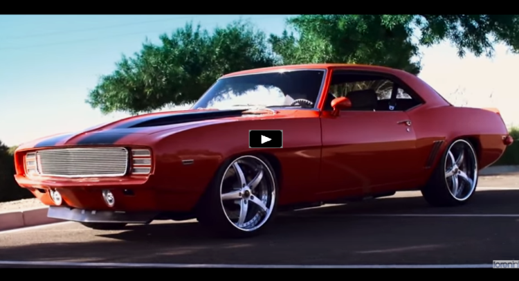 Awesome 1969 Chevrolet Camaro Z28 Custom Job | HOT CARS