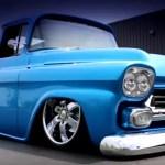1959 chevy 3100 custom pick up truck
