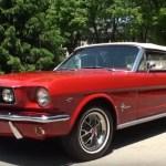 convertible 1966 ford mustang 289 restoration
