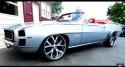 high end custom 1969 chevy camaro convertible