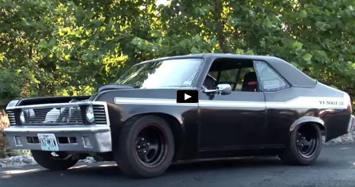 Unique Custom Built Chevy Mini Nova Video Hot Cars