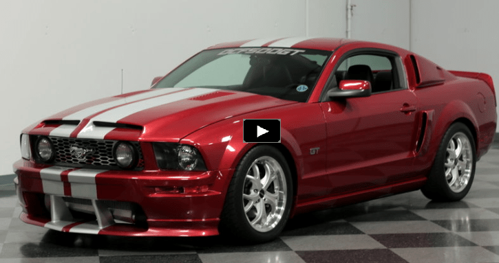 Burgundy 2005 Mustang Dcf500gt Limited Edition Hot Cars