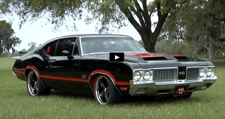 1970 Oldsmobile Cutlass 442 With A Touching Story Hot Cars
