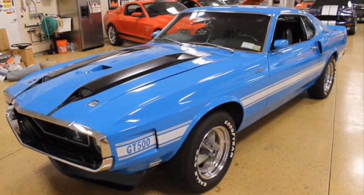 Extremely Rare 1970 Ford Mustang Shelby Gt500 Hot Cars