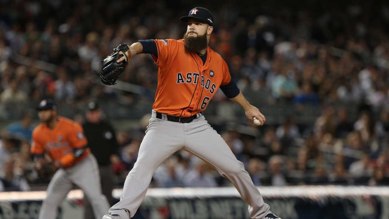 Bishop Kelley Grad Dallas Keuchel Wins 2015 Warren Spahn Award