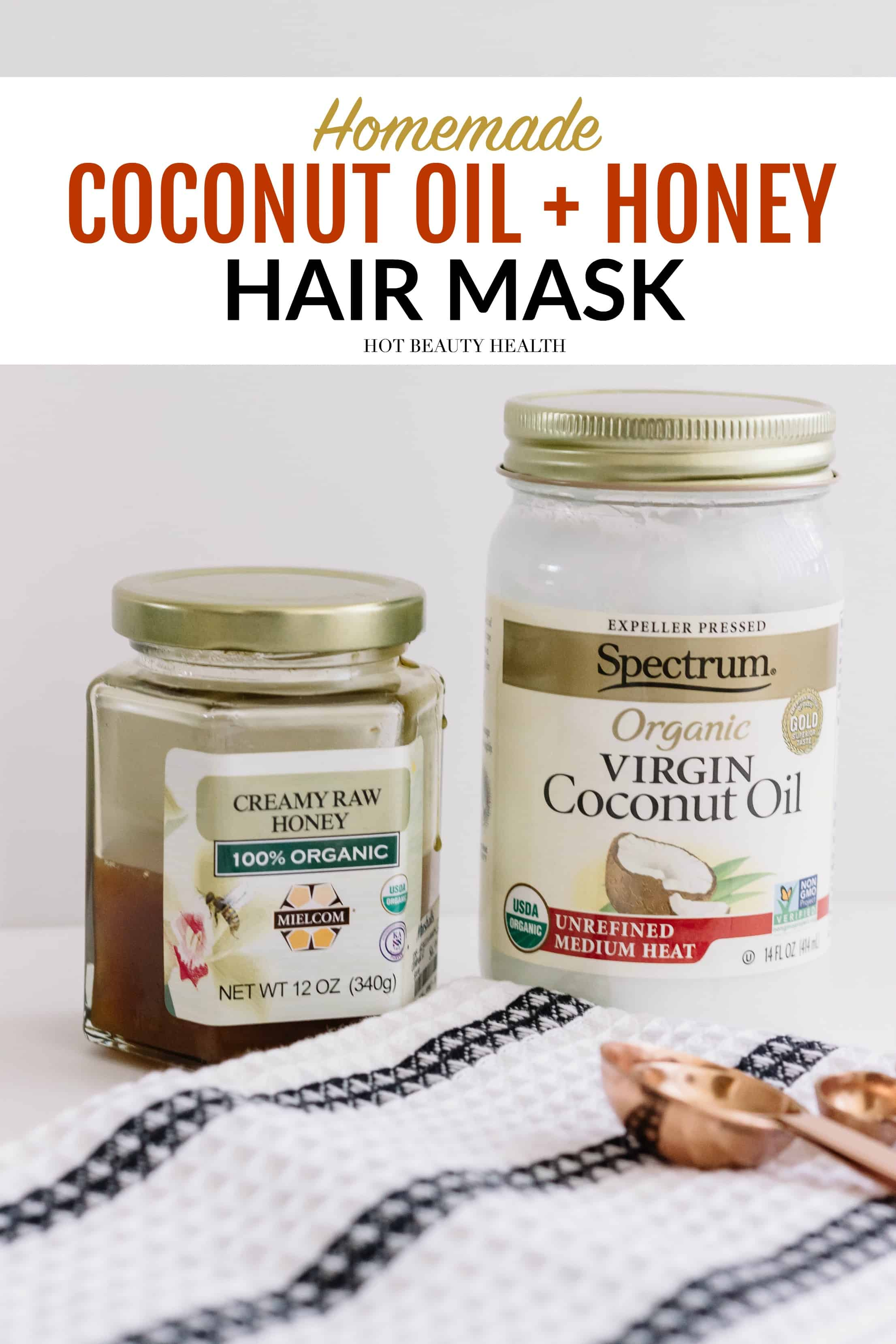 Coconut Oil And Honey Hair Mask Homemade Hot Beauty Health