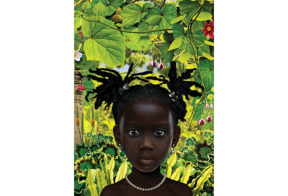 Ruud van Empel, World #29, 2008, Cibachrome, dibond, plexiglas 47 x 33 inches (119 x 84 cm)