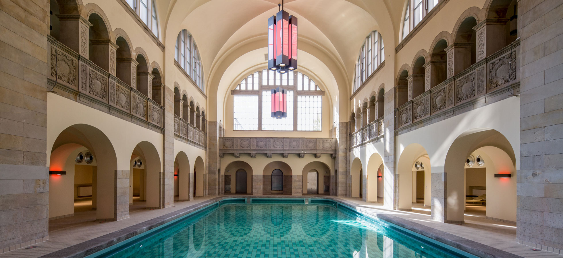 Swimming Pools In Berlin Baths Oderberger Hotel