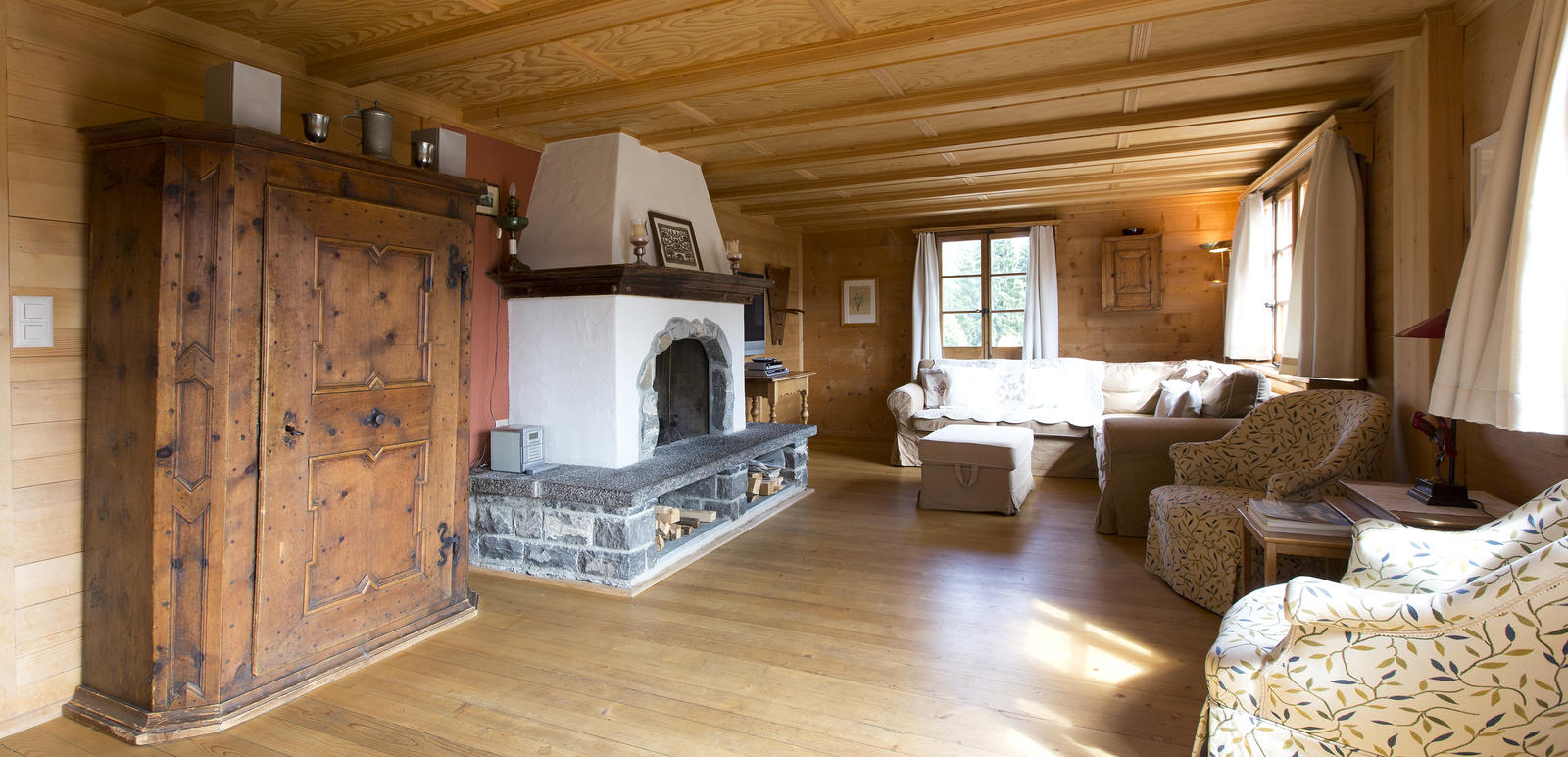 Chalet Wohnzimmer Boutique Hotel Alpenrose Chalet 200m From The Hotel