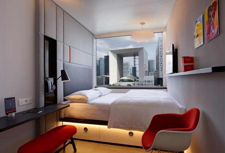 Citizenm Says 39hello39 To Paris La Defense Hotel Designs