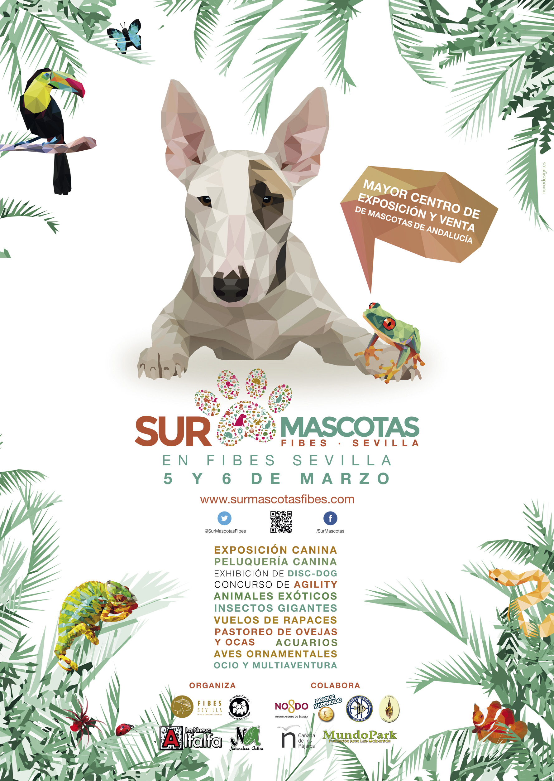 Arte Final English Sur Mascotas Will Be In Fibes Seville On The First Weekend Of